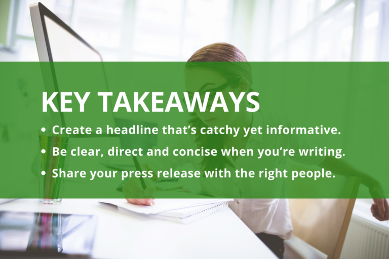 9 Steps To Writing The Perfect Press Release