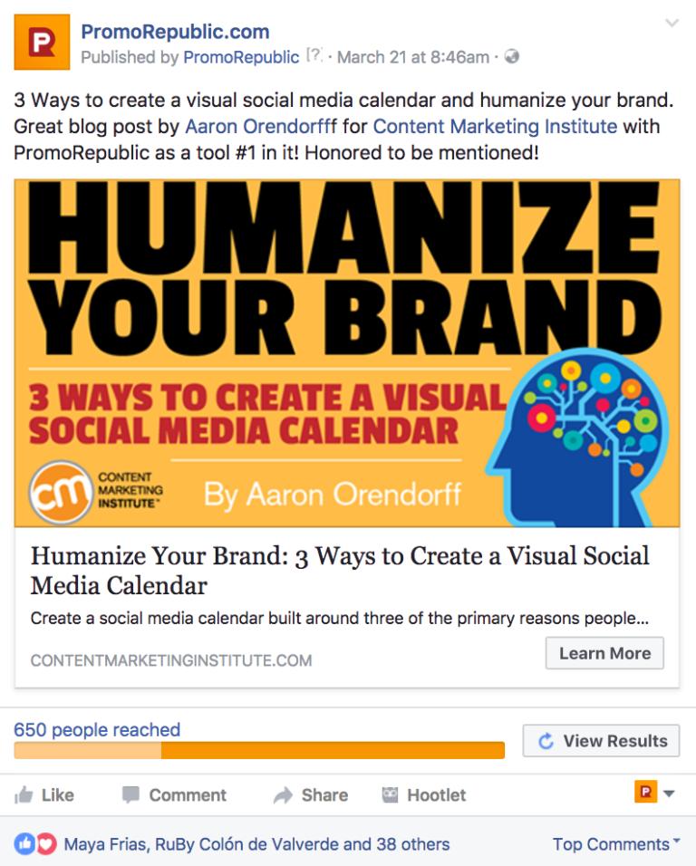 marketing des médias sociaux