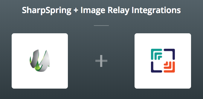 SharpSpring & Image Relay on Zapier