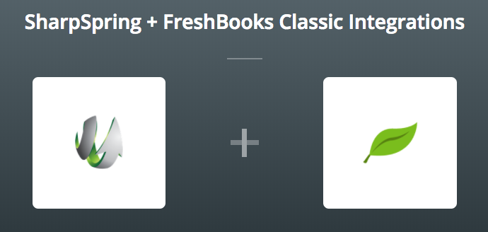 sharpspring and freshbooks on zapier