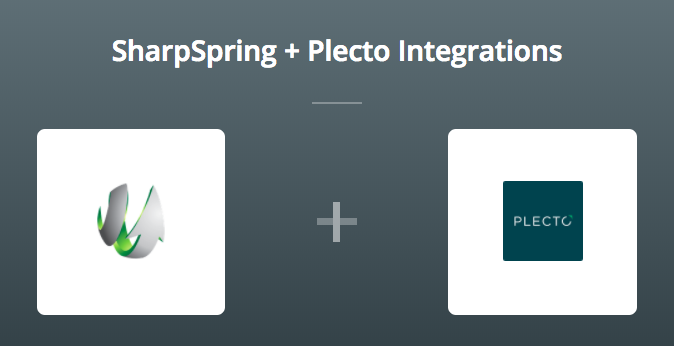 SharpSpring & Plecto on Zapier