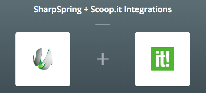 SharpSpring & Scoop.it op Zapier