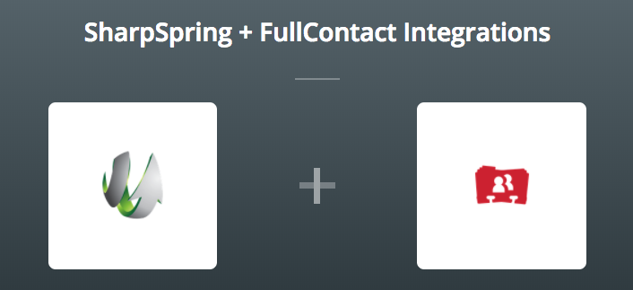 SharpSpring & FullContact on Zapier