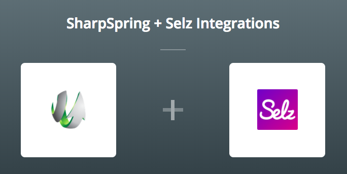 SharpSpring & Selz on Zapier