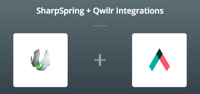 SharpSpring & Qwilr on Zapier