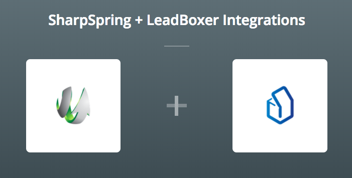 SharpSpring & LeadBoxer on Zapier