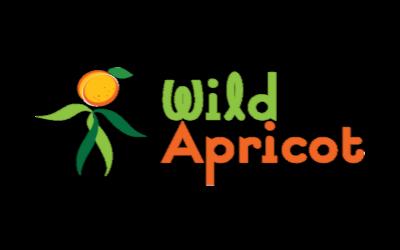 Logo sauvage d'abricot