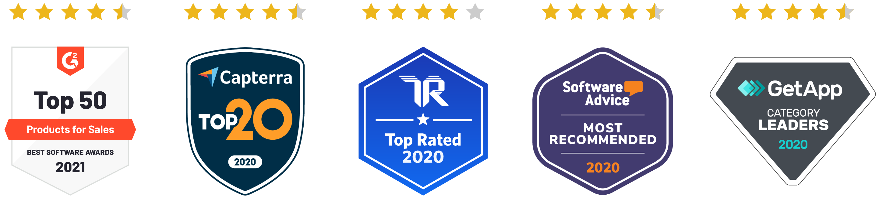 Review Site Badges Stars On Top