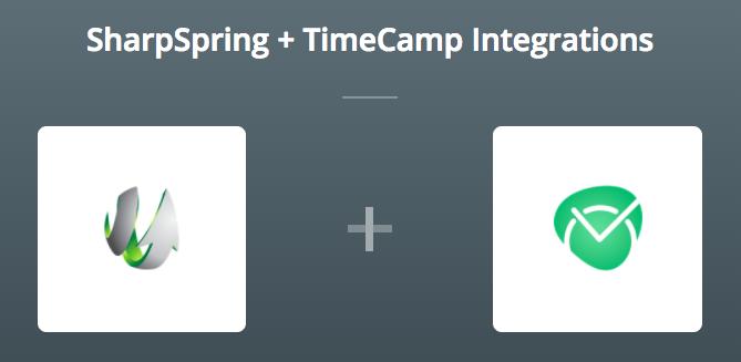 SharpSpring & TimeCamp sur Zapier