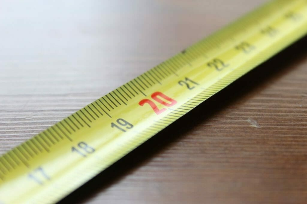 Photo of a ruler
