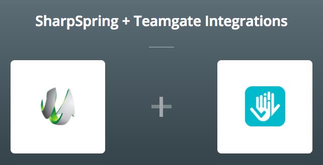 SharpSpring & Teamgate on Zapier