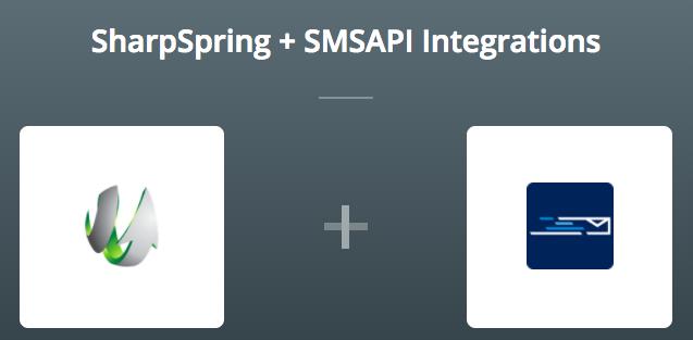 SharpSpring_SMSAPI_Zapier