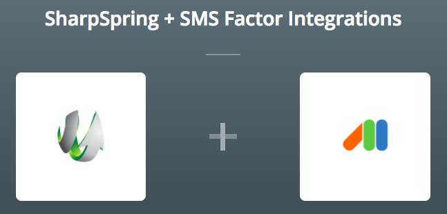 SharpSpring_SMSFactor_Zapier