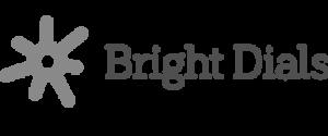 Logotipo de marcaciones brillantes