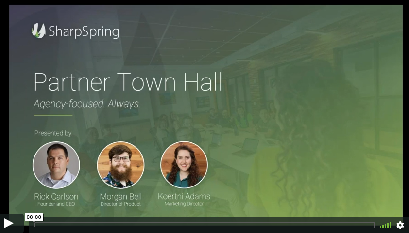 Townhall Video snashot