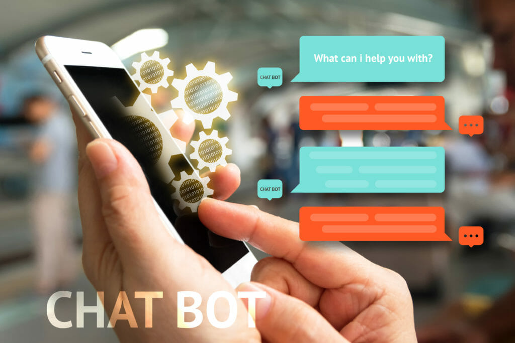 Chatbot improve user experience online and optimize sales