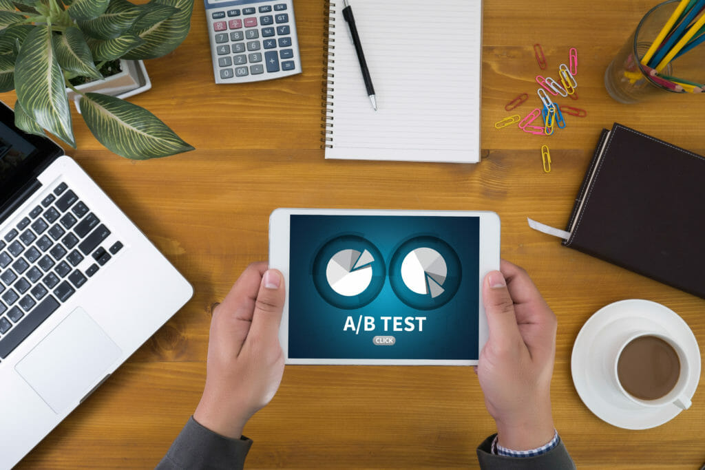 A / B-Tests für digitale Marketingstrategie