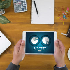 A / B-testen voor digitale marketingstrategie