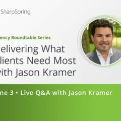 Jason Kramer ile Müşterilerin En Çok İhtiyaç Duyduklarını Teslim Etme - 3 Haziran