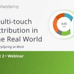 Attribution multi-touch dans le monde réel