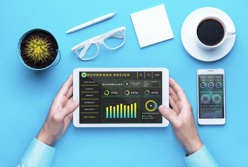Image Displaying Digital Marketing Tools