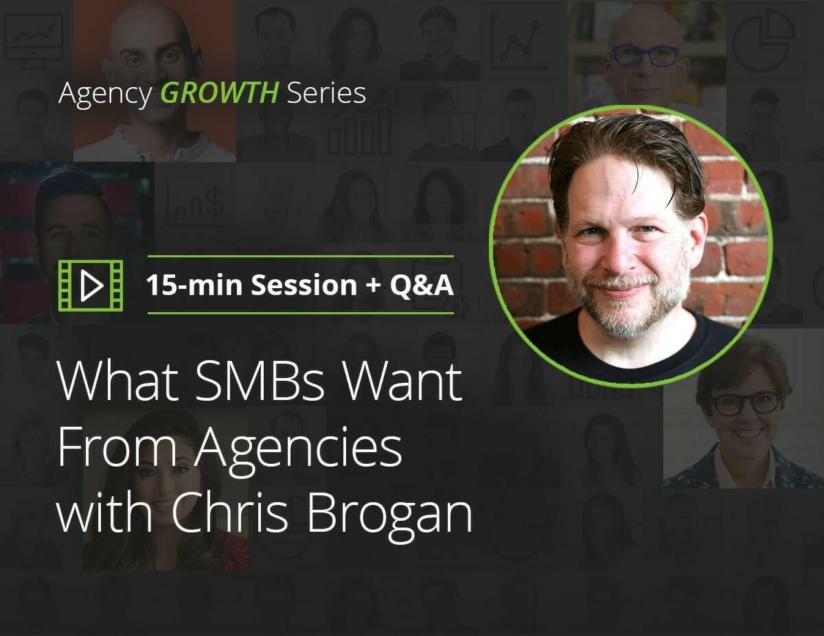 Was KMUs von Agenturen mit Chris Brogan wollen