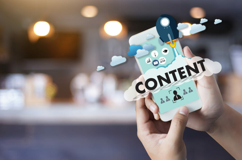image of content marketing strategy