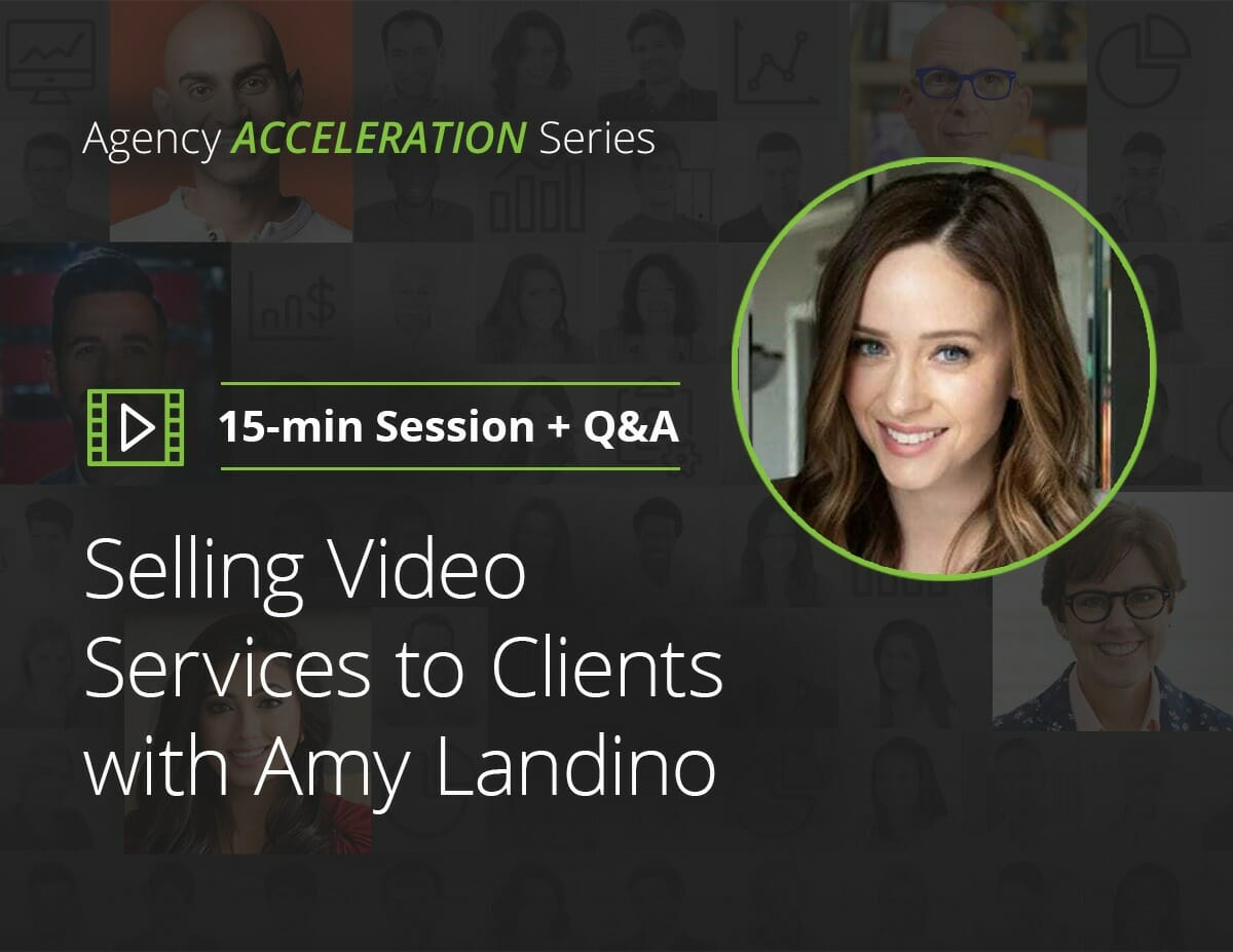 Selling Video Services to Clients with Amy Landino