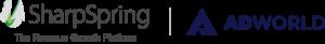 SharpSpring & AdWorld logos
