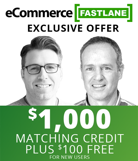 Special Offer for Ecommerce Fastlane Listeners